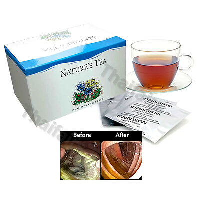Nature's T Infusion Unicity Herbal Tea Detoxification In The Colon 30 Tea Bags
