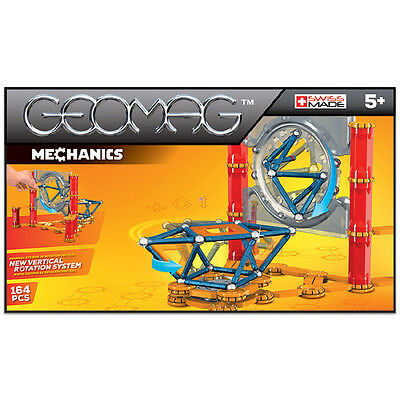 Geomag Mechanics 164 Constuction System Magnetic Building Toy Set - SWISS MADE