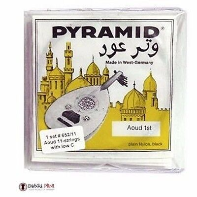 Oud Strings Yellow Label - Set of 11 Pyramid Oud Strings- 652/11 with low c