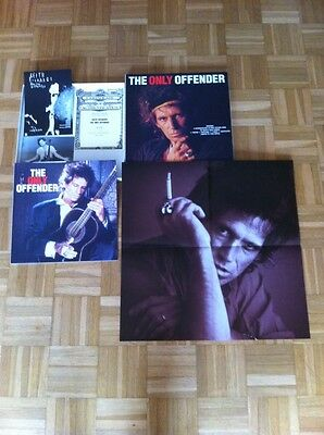 """Box Limited Editon - Keith Richards """"the Only Offender"""" 1266/1500"""