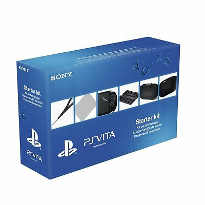Starter Kit Ps Vita Playstation Accesorios Fundas
