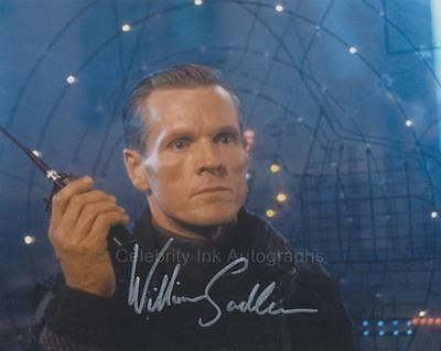 WILLIAM SADLER as Colonel Stuart - Die Hard 2 GENUINE AUTOGRAPH UACC (R12263)