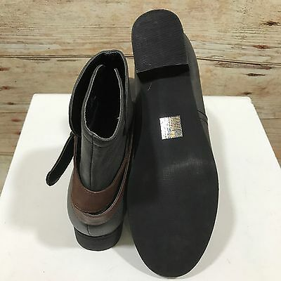 NEW MANTARY Grey Ankle Boots Casual Faux Leather Stylish Size UK 9 12255