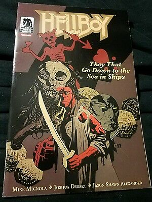 HELLBOY They That Go Down to the Sea in Ships KONAMI Mike Mignola Dark Horse