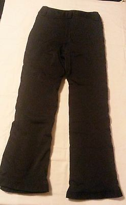 Womens black ski pants Marker Size 10
