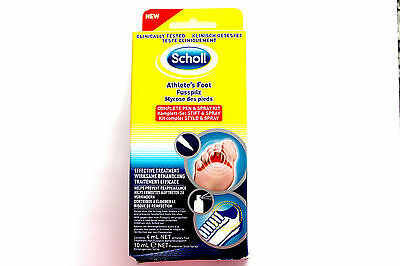 Scholl Athlete's Foot Complete Pen & Spray Kit