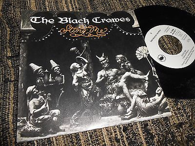 """The Black Crowes Sting Me/rainy Day Woman Single 7"""" 1992 Germany"""
