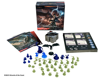 Dungeons & Dragons / D&D: Temple of Elemental Evil Board Game