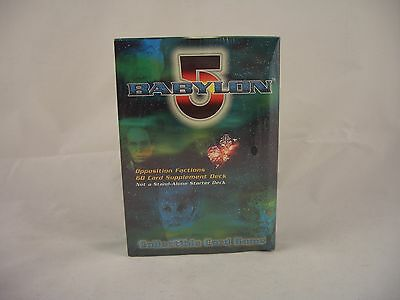 Babylon 5 - Opposition Factions 60 Card Supplement deck, Collectible Card Game