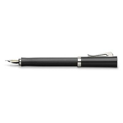 GRAF von Faber-Castell INTUITION BLACK Fountain Pen Brand New 156222 + Gift box