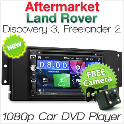 "7"" Land Rover Discovery 3 Freelander 2 Car DVD Player USB MP3 Stereo Radio CD ET"