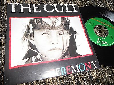 "The Cult Ceremony Single 7"" 1991 Promo Double Side Spain"