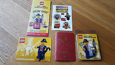 NEW Lester Lego Minifigure  #266 Of 275 From Leicester Sq Limited & Rare