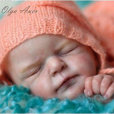 """Ellis by Olga Auer New Reborn Baby Doll Kit  @ Limited Edition 1000 @ 22"""""""