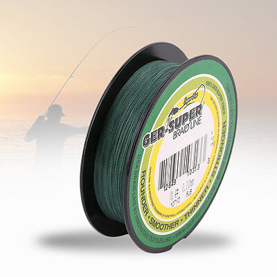 8/10/12/15/18/20/25/30/35/40/45/50/60/70/80/90LB Strong Braided Fishing Line UK