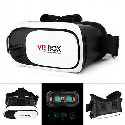 2nd Gen. VR BOX 2.0 Cardboard  3D Virtual Reality VR Glasses VR Helmet Headset