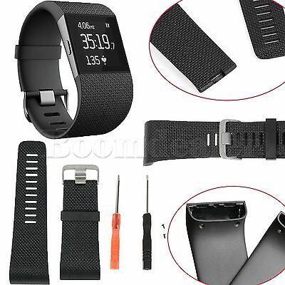 Replacement Silicone Bracelet Watch Band Strap for Fitbit Surge Activity Tracker