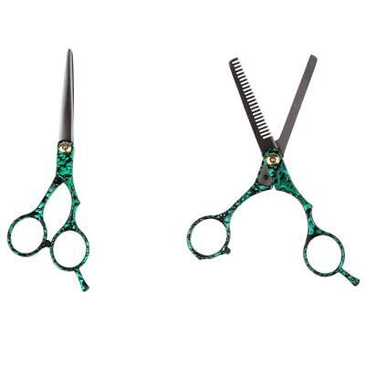 """Professional Barber Hair Cutting Thinning Scissors Shears Hairdressing Set 6"""""""