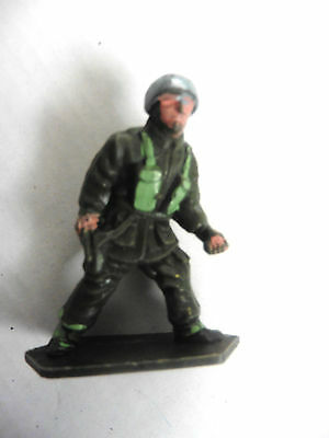 Lone Star   Plastic Toy  British Paratrooper Wwii Number 1 1960's Rare
