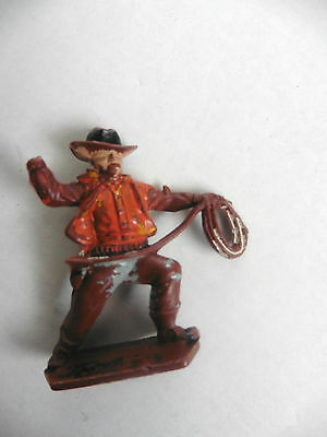 Lone Star Harvey Series  Plastic Toy  Cowboy Lasso  Number 7 1960's Rare