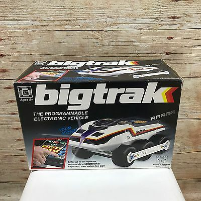 ZEON TECH Bigtrak Electronic Programmable Vehicle Retro Boxed Boys Toy 10302