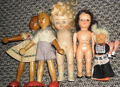 50S/ 60S Vintage  DOLL COLECTION charming old lot