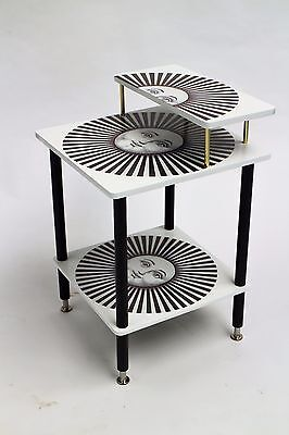 1960s Vintage side table in the Manor of Piero Fornasetti
