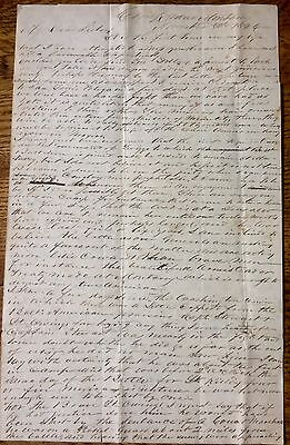 Mexican War- solider's Letter from front near Monterrey- G. Oliver Lansdale-1846