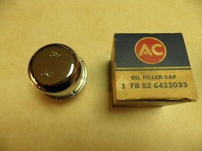 NOS AC FB52 6423033 Chrome Oil Filler/Breather Cap 1966 1967 Chevelle 396