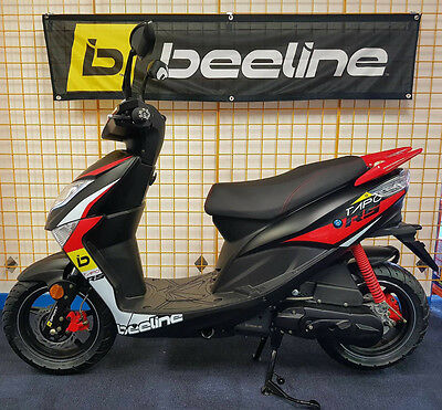 Beeline Tapo RS 50cc 2017 - 17 Plate scooter moped NEW IMPROVED RANGE (SPORT)
