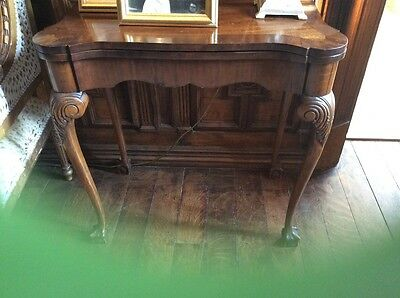 George III Style Antique Card Table