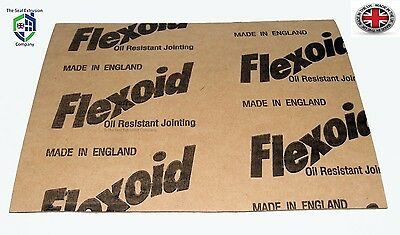 Genuine Flexoid Gasket Paper A4 size Sheet (Free UK Postage) 2mm Thick