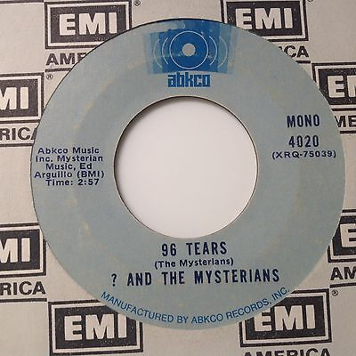 ? And The Mysterians - 96 Tears / I Can't Get Enough Of You Baby-Abkco 4020. Vg+
