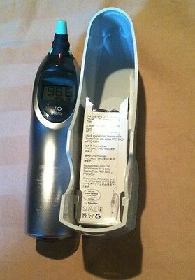 Welch Allyn Braun Thermoscan 6021 Digital Ear Thermometer W/CRADLE & COVERS