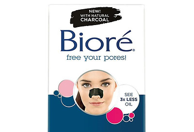 New Biore Deep Cleansing CHARCOAL Pore Strips 1x NOSE Strip not (6) unclog pores