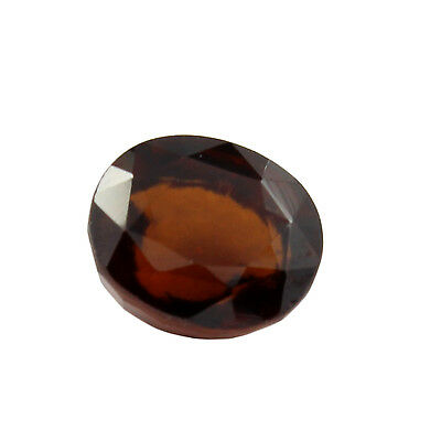 Be You 5.55cts Orange Color Faceted Oval Shape Natural Odisha Hessonite