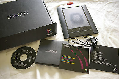 Wacom Bamboo Touch Graphics / Drawing Tablet  CTH-460 Boxed / NO PEN