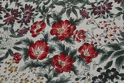 100% Viscose Voile Muted All Over Multi Floral Print Dress Fabric Material
