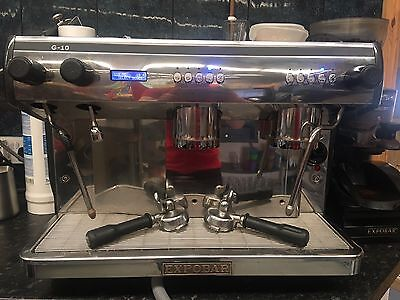 Expobar G10 COFFEE MACHINE And GRINDER