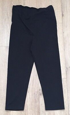 H&M Maternity Over Bump Cropped  Leggings Size Medium 12-14