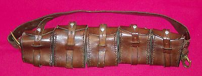 Bandolier - leather - Victorian military