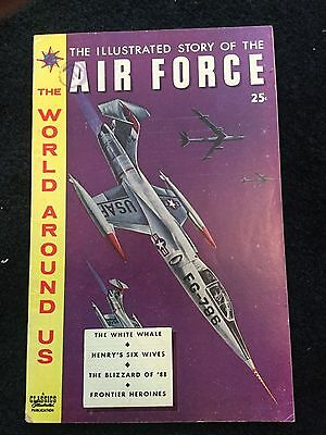 Classics Illustrated World Around Us Air Force #13 FN+ or better! BV $33