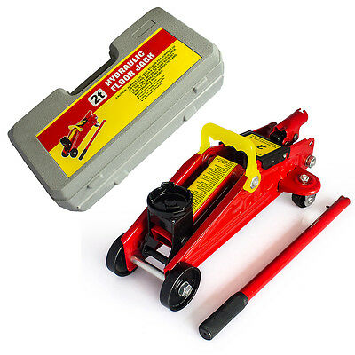 2 Ton Hydraulic Trolley Floor Jack Car Van Garage 2000kg Lift TUV CE UK STOCK