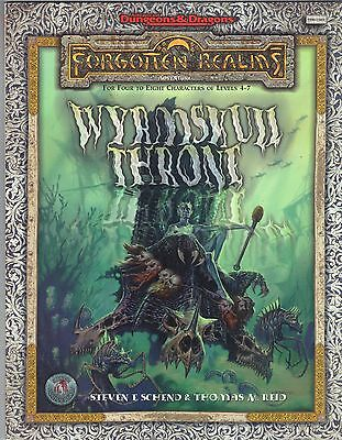 WYRMSKULL THRONE AD&D 2e Forgotten Realms TSR 11405 Price Includes Deliver in UK