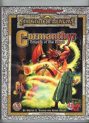 CORMANTHYR Empire of the Elves AD&D Forgotten Realms TSR1165 Price Inc Del in UK