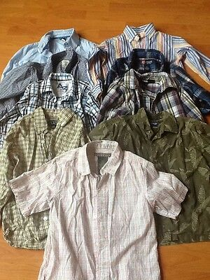 5/5T Boys Chaps, TCP, Kenneth Cole, Gap, Dress Shirts Button Up Lot of 9
