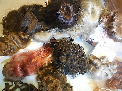 Lot of 20 Various Doll Wigs - Bell, Global, Wee, Monique ...