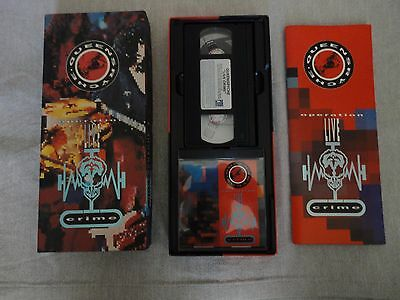 Boxset Queensryche - Operation Live Cryme (CD + VHS)