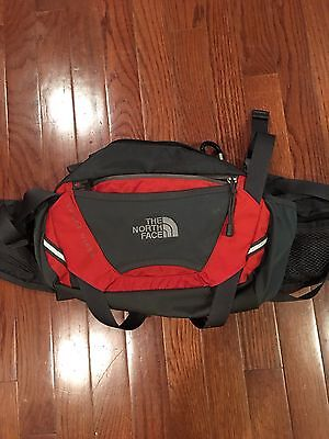 The North Face Sport Hiker Waist Pack - Fanny Pack, Red with Black Padded Lumbar