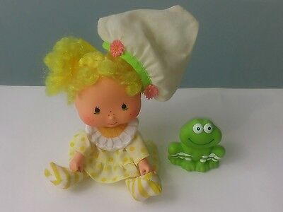 Emily Erdbeer Lemon Meringue + Frosch 1979 A.G.C. Strawberry Shortcake Vintage